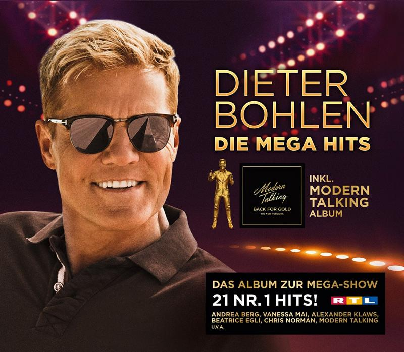 Dieter Bohlen: Modern Talking - Back For Gold [CD]