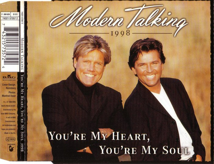 [Уценка!] Single - Modern Talking - You're My Heart, You're My Soul 1998
