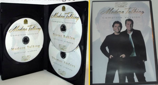 3DVD Complete version Modern Talking